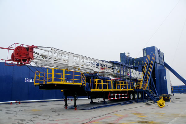 Trailer-Mounted-Drilling-Rig