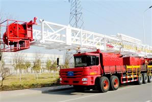 ZJ15 Truck Mounted Drilling Rig