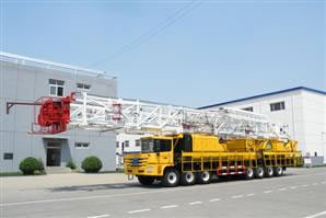 ZJ40 Truck Mounted Drilling Rig